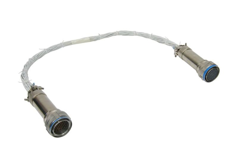 Open bundle wiring harness fabrication