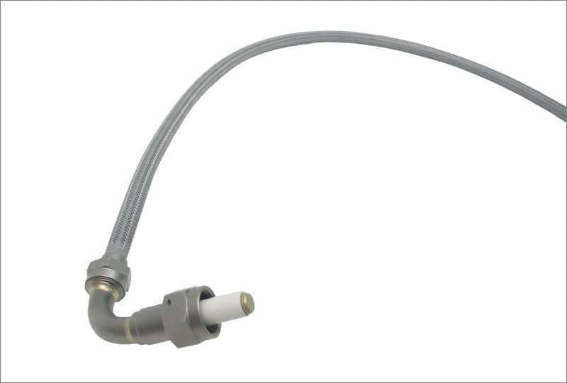 High tension ignition leads for aircraft and aerospace applications