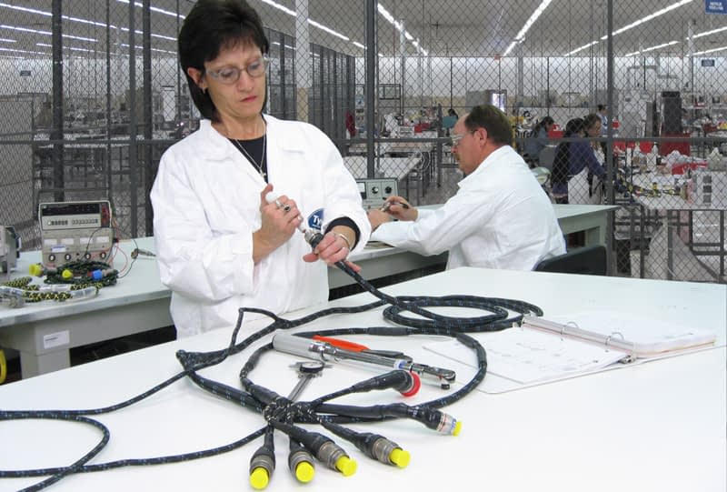 Aircraft engine wire harness repairs