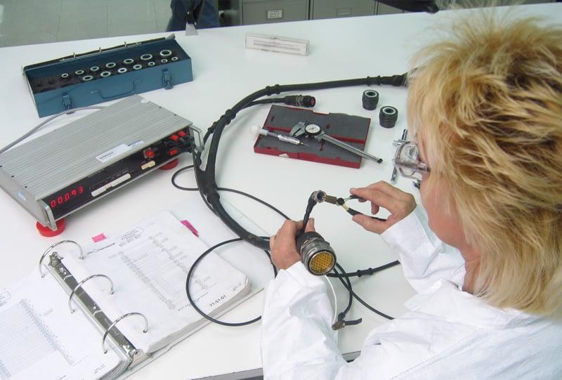 Aerospace electrical wiring harness overhauls