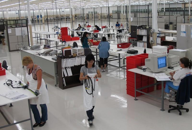 Certified aircraft wiring harness repair center