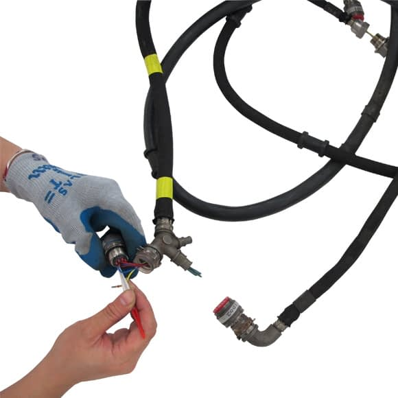 Aircraft electrical wiring harness repair services