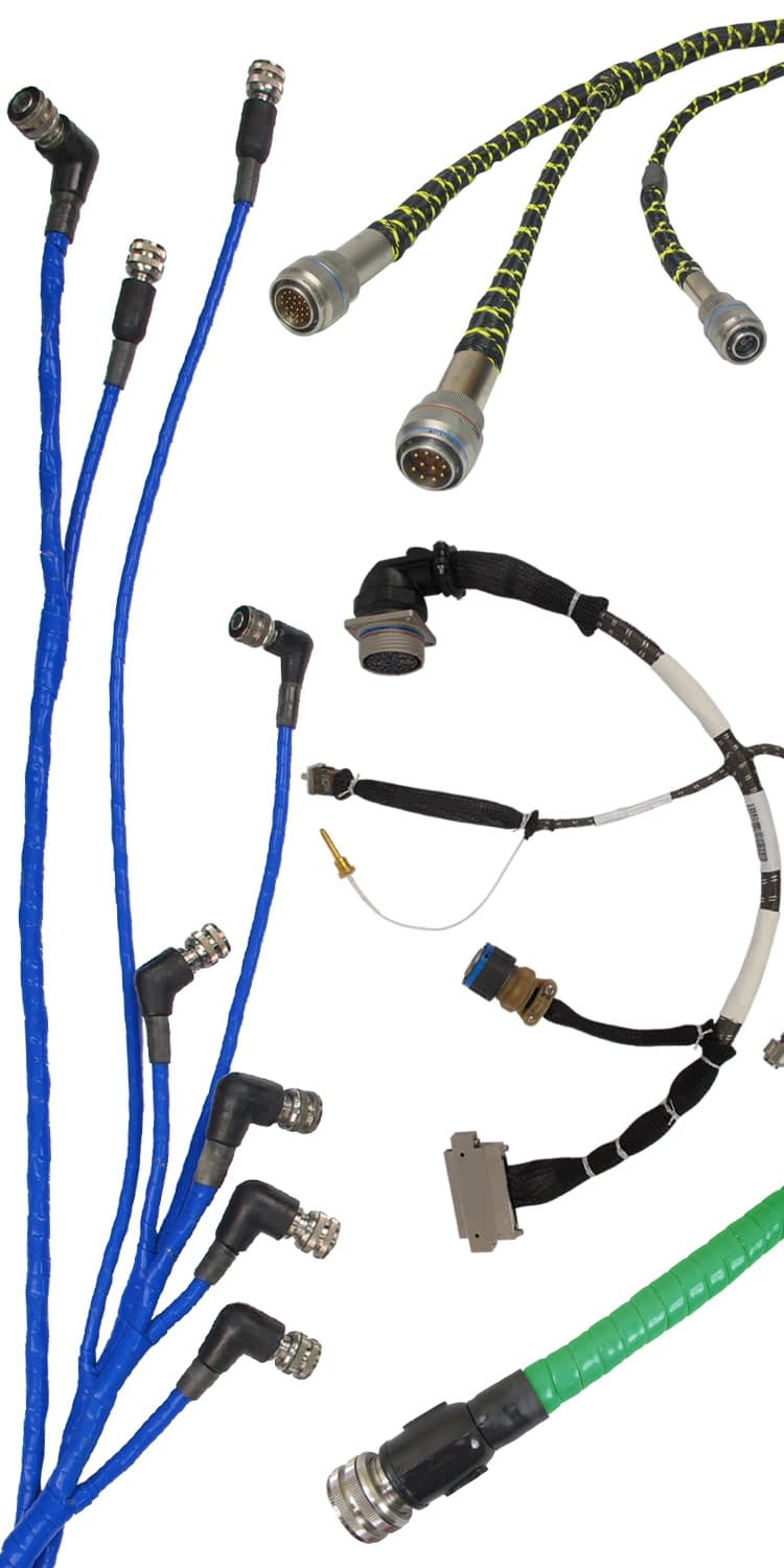 Electrical Wiring Harnesses for Aerospace & Defense | CIA&D on wire harness repair, wire harness fasteners, wire harness tubing, wire harness testing, wire harness connectors, wire harness assembly,